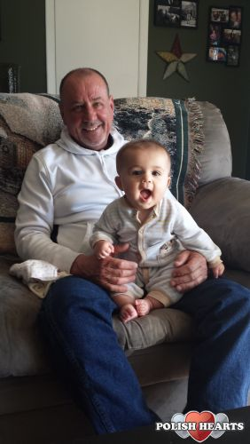 Easter 2015 with my Grandson, his 1st Easter at Grandpa\'s  house.